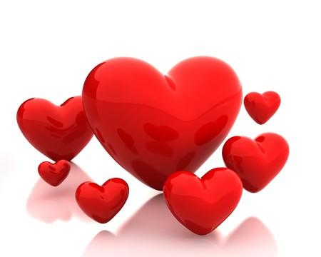 few: Few hearts