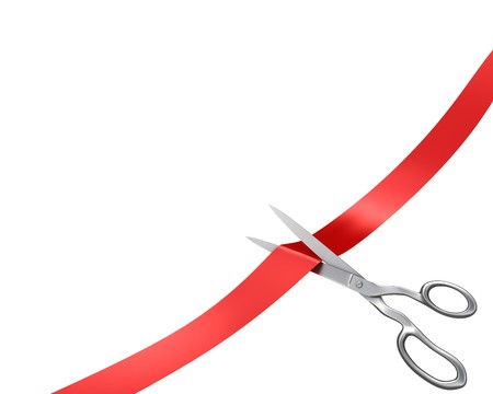 ?tapes: Ciseaux � couper le ruban, coin version