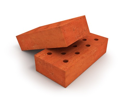Two bricks Stock Photo - 8043095
