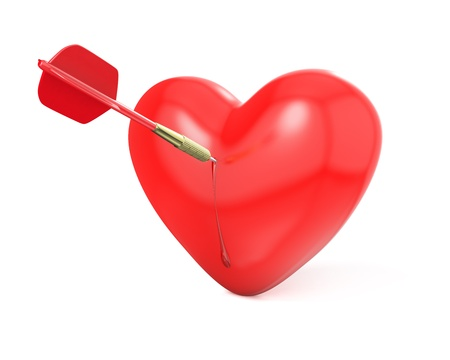 i love you darts dart stuck in a board stock photo picture and royalty free image