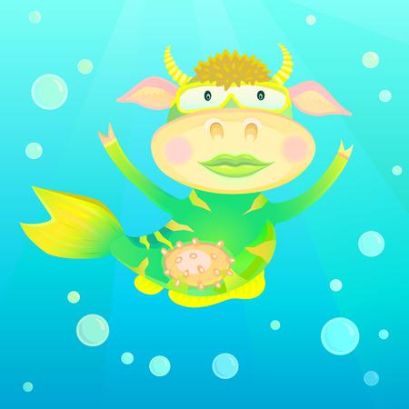 sea cow: Sea cow