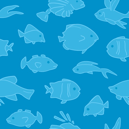 Fish Pattern Seamless