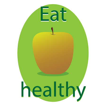 Eat Healthy Çizim