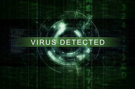 Virus Detected artwork