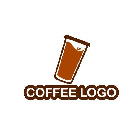 Coffee logo. Coffee logo design vector template.