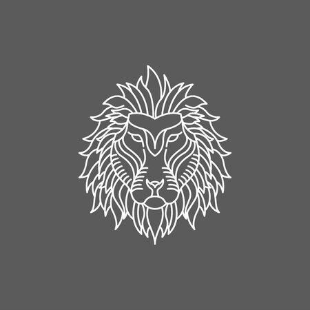 Lion. Lion Logo Design. Lion Face. Lion Roar.