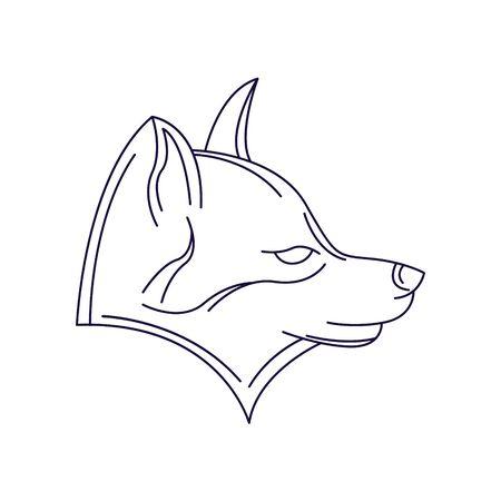 Dog Design. Dog vector illustration.