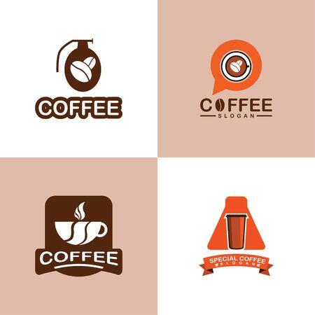 Coffee Logo Design. Set of Coffee Logo.