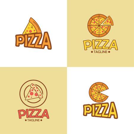 Restaurant Logo. Pizza Logo Design.