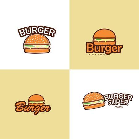 Restaurant Logo. Burger Logo Design.