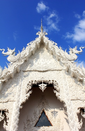 Wat Rong Khun temple. photo