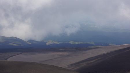 etna: view of Mount Etna