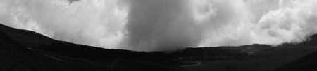 etna: panorama of Mount Etna Stock Photo