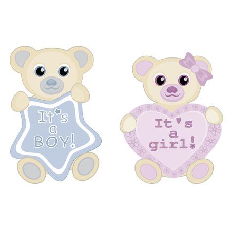 Its a boy baby announcement 免版税图像 - 44984908