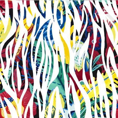 cebra: cebra stripelike una nueva l�nea popular de patr�n aleatorio geometr�as m�s abstracto fondo textura patr�n