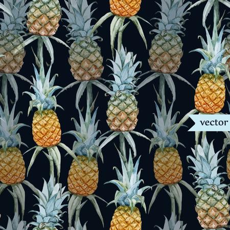 famous paintings: Tasty pineaple Illustration