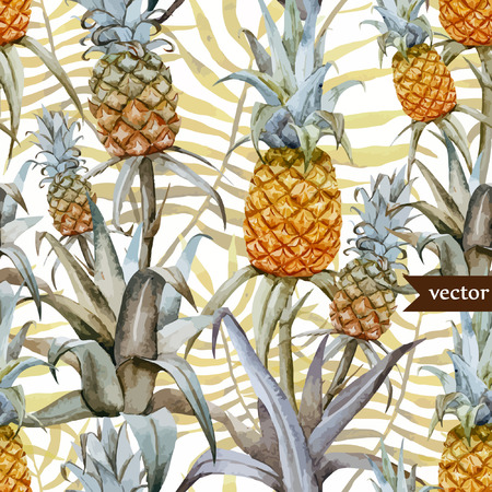 Smakelijke pineaple Stock Illustratie