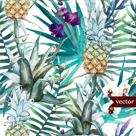 Pineaple patroon Stock Illustratie