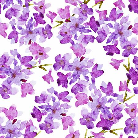 좋은 수채화 꽃 아름 다운 패턴