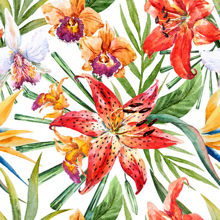 47,172 Tropical Flower Stock Illustrations, Cliparts And Royalty ...