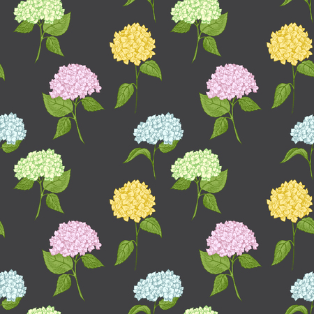 primrose: Beautiful vector image with nice hand-drawn floral pattern