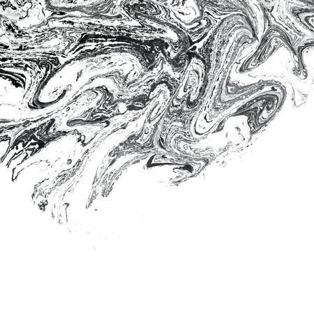 Ebru abstract illustration