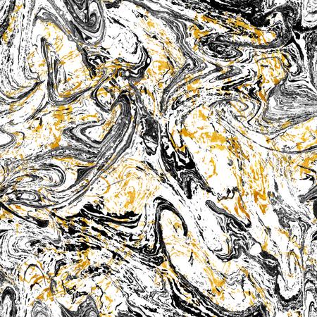 Ebru seamless vector pattern