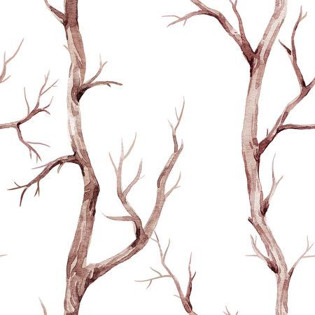가을 나무 패턴 스톡 콘텐츠