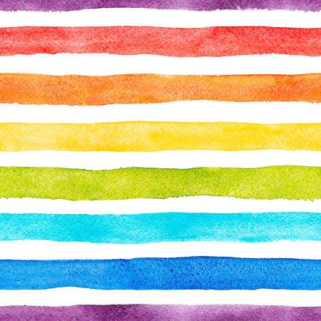 aquarelle rayures à rayures motif