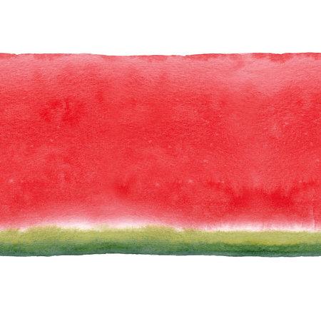 Watercolor watermelon seamless pattern Banco de Imagens