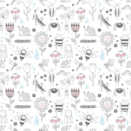 Insect vector pattern