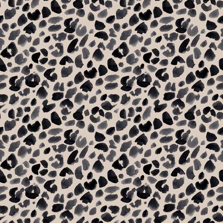 Akwarela jaguar safari