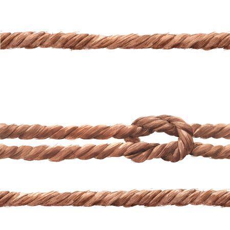 Wzór liny akwarelowej