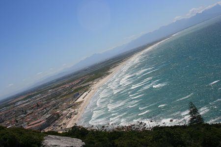 capetown: Coastal line of Capetown Stock Photo