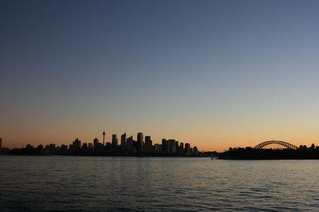 Sydney Skyline & Harbour Bridge photo