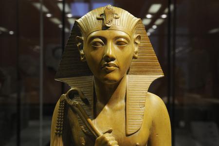 egyptian cobra: Closeup on a egyptian pharaoh