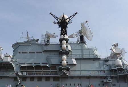 external: External of a ship Stock Photo