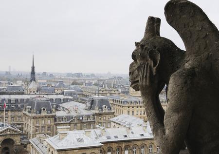 corcovado: Quimera en Notre Dame de Par�s, Francia