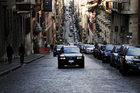 Roma: city road of roma