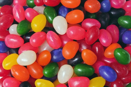 assorted jellybean candy
