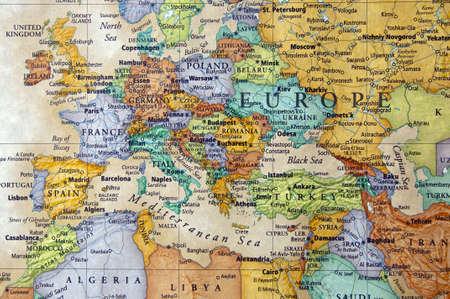 mapa de europa: mapa de Francia Espa�a Italia y otros pa�ses europen