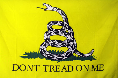 Gadsden American revolutionary war flag