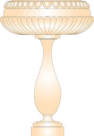 Ancient Greek vase  Vector