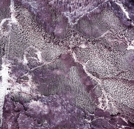 salts: Natural background of texture of of crystals of salts on the surface of the rock
