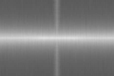 Brushed metal surface. Texture of metal. Abstract steel background Standard-Bild