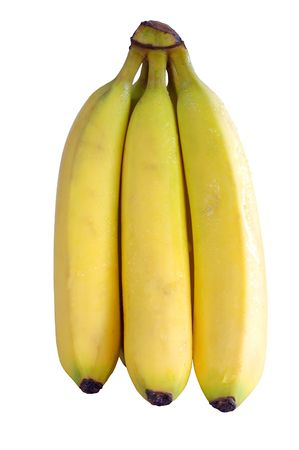 peal: bunch of bananas