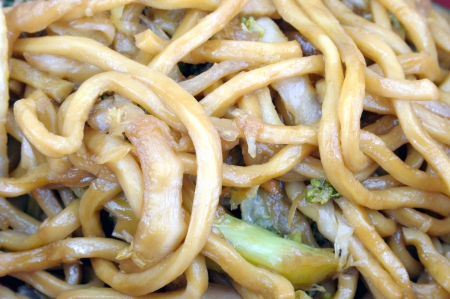lo mein chineese food