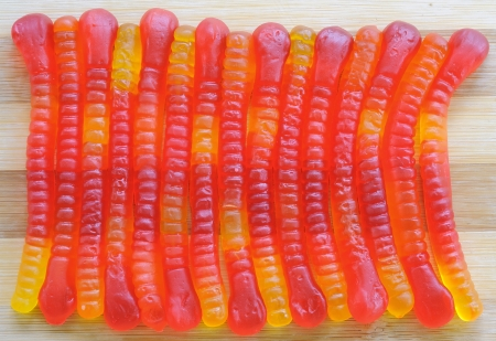 candy worms