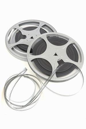 movie film reel Stock Photo