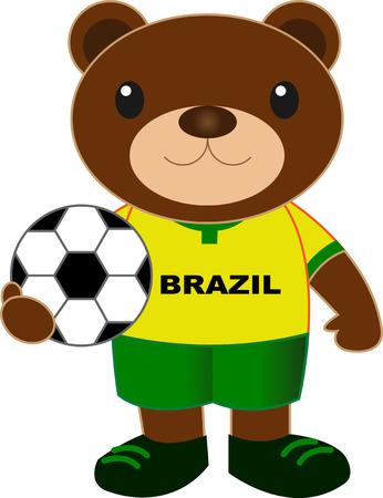 Image result for brazil teddy bear